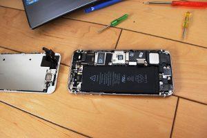 iPhone5バッテリー交換