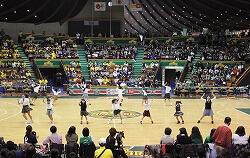 プロバスケットバール ハーフタイムショー1 代々木第二体育館1