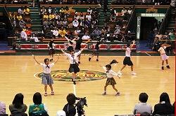 プロバスケットバール ハーフタイムショー1 代々木第二体育館2