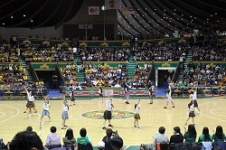 プロバスケットバール ハーフタイムショー1 代々木第二体育館3