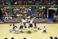 プロバスケットバール ハーフタイムショー1 代々木第二体育館4