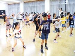 キッズダンス 川崎幸教室レッスン風景2