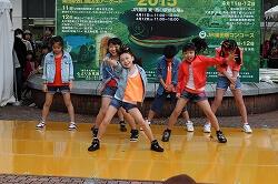 蒲田駅前イベント キッズダンス1