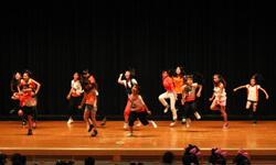 kids dance contest パイレーツファイトオレンジゲスト1